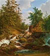 mühle am waldbach by joseph feid