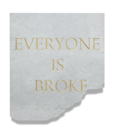 credit crunch. everyone is broke by elmgreen & dragset