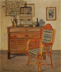 le fauteuil d´osier by louis thevenet