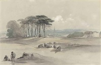 hampstead heath, london by george bryant campion