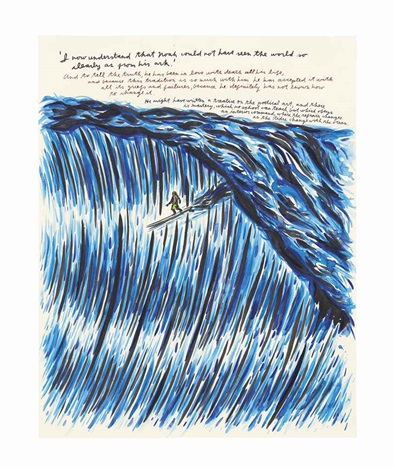 untitled i now understand that noah by raymond pettibon