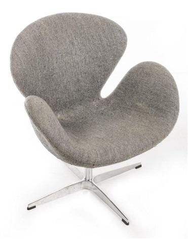arne jacobsen swan chair for fritz hansen by arne jacobsen on artnet