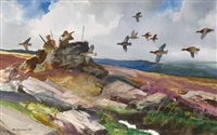 grouse moor shooting by chet reneson