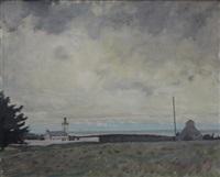 bord de mer à l'ile de bréhat by willem van hasselt