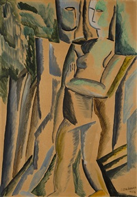 le couple by ossip zadkine
