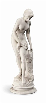 figure of venus au bain by etienne maurice falconet