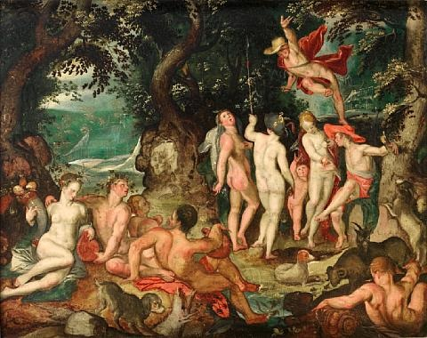 the judgment of paris by joachim anthonisz wtewael
