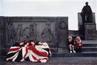 les who avec le drapeau britannique by art kane