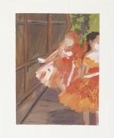dancers in the wings, moths, paris opera, degas by karen kilimnik