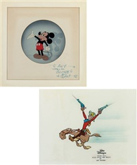 pecos bill (+ 6 others; 7 works) by walt disney