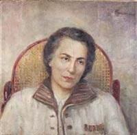 portrait einer alten frau by ivan nikolaevich kramskoy