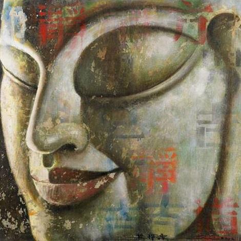 bouddha n°21 by ma tse lin
