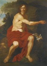 st. john the baptist by nicolas regnier