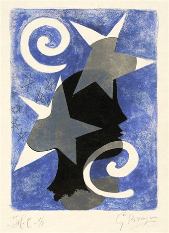 profil le couple pl 1 22 2 works from lettera amorosa by georges braque