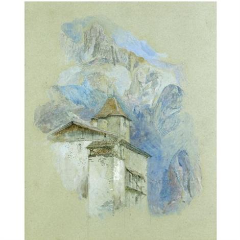 château des rubins sallanches haute savoie by john ruskin