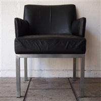 fauteuil de bureau, modèle 56 by jules wabbes