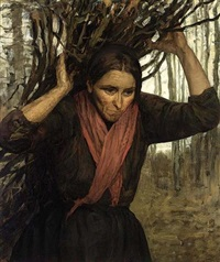 a faggot gatherer by wally (walburga wilhelmina) moes