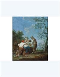 scena campestre by paolo monaldi