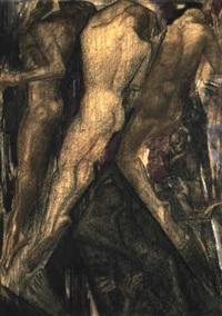 dans van het noodlot (praedestinatie) ( dance of predestination) by willem van konijnenburg