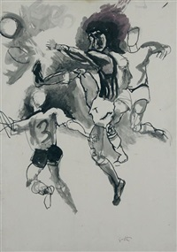 foot ball by renato guttuso
