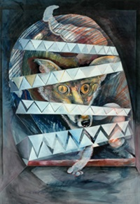 trapped fox by anne marie hall