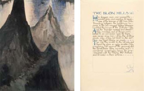 the iron hills from the ship that sailed to mars by william mitcheson timlin