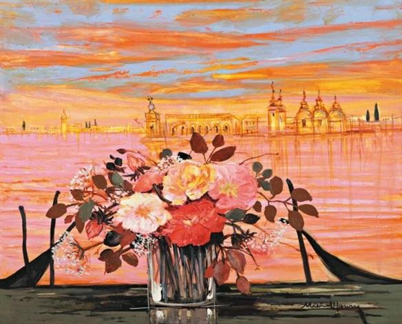 Roses Pierre De Ronsard à Venise By Michael Henry On Artnet