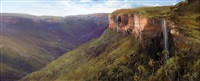 view from govett's leap, nsw by chris kandis