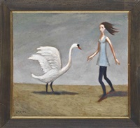 dancing with a swan (+ conversation with a swan; 2 works) by philip david