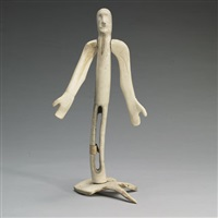 standing figure by peter assivaaryuk