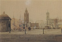 hanover street, liverpool by william gawin herdman