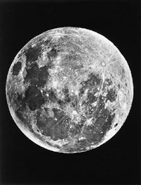 full moon exhibiting the bright streaks from tycho by james nasmyth