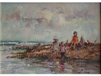 a day at the beach by christiaan nice