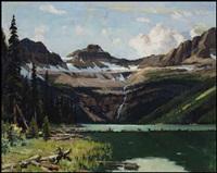 mountain scene by richard jack