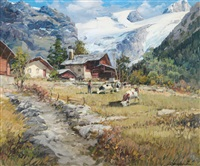 alta valle di gressoney by licinio campagnari