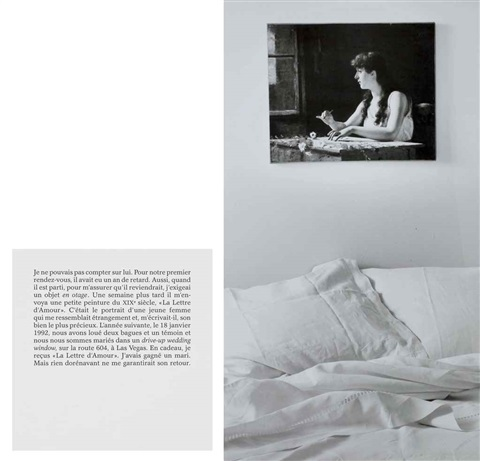 el rehen from autobiographies by sophie calle