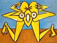 žlutá kudlanka by jiri naceradsky
