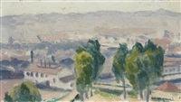 le bastion 15, alger by albert marquet
