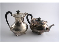 water jug (+ tea pot; 2 works) by h atkin