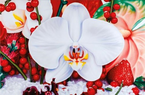 white night in the orinocco delta by marc quinn