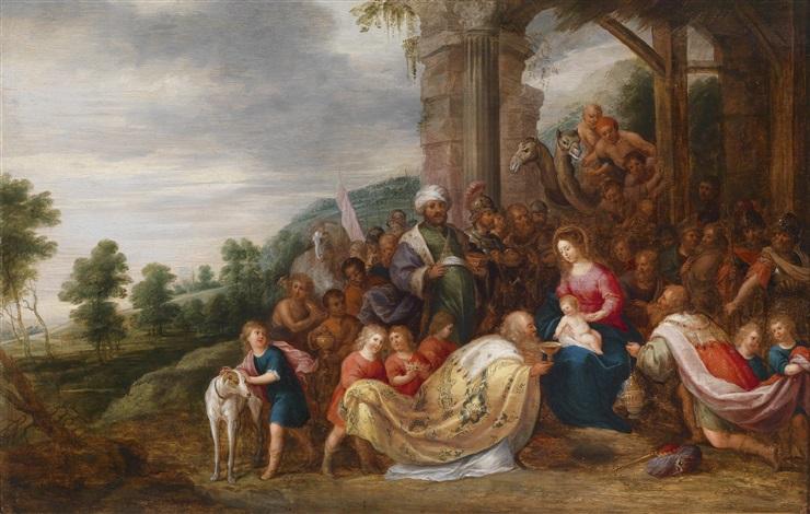 die anbetung der könige by hans jordaens iii