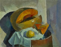 still-life with fruits by paul gronholm