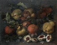 natura morta di frutta by michelangelo di campidoglio