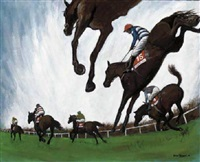 the cheltenham gold cup by simon honeywill