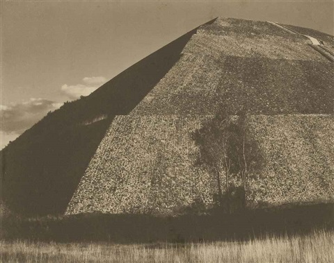 pirámide del sol mexico by edward weston