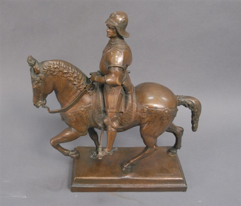 colleoni on horse back by andrea del verrocchio