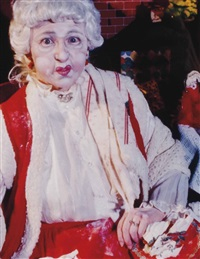 untitled (mrs. claus) by cindy sherman