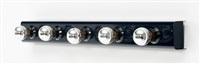 applique modèle 50 à cinq ampoules by arteluce
