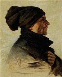 profilo di uomo by nicolo barabino