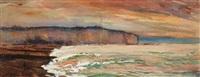 dieppe, la jetée by bernard raoul lachevre